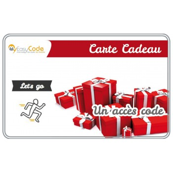 Carte cadeau Let's Go