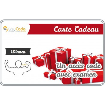 Carte cadeau Winner