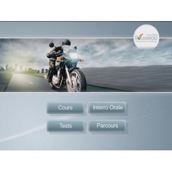 Pass Rousseau moto : vérifications et fiches plateau en ligne pour permis moto