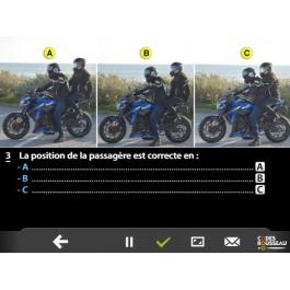 Code de la Route moto : nouvelle épreuve ETM 2020