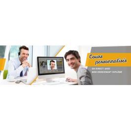 Cours particulier de code ou test type examen par vidéo conférence dirigé par un enseignant diplômé (1 heure)